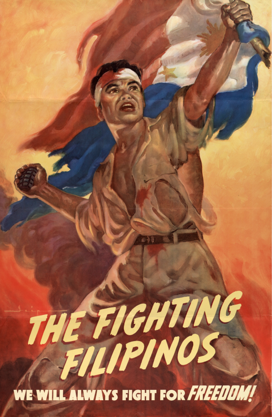 Propaganda Poster from the Offices of Special Services, Commonwealth of the Philippines, Washington DC.